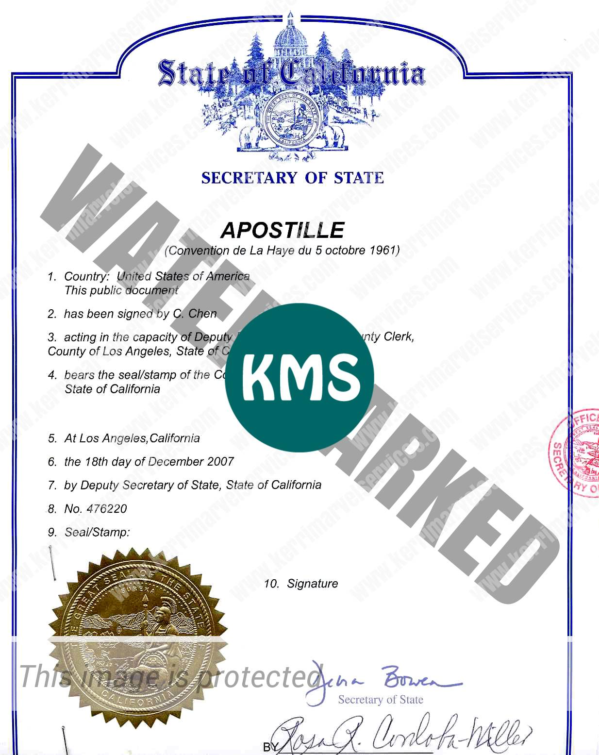 how to get an apostille stamp
